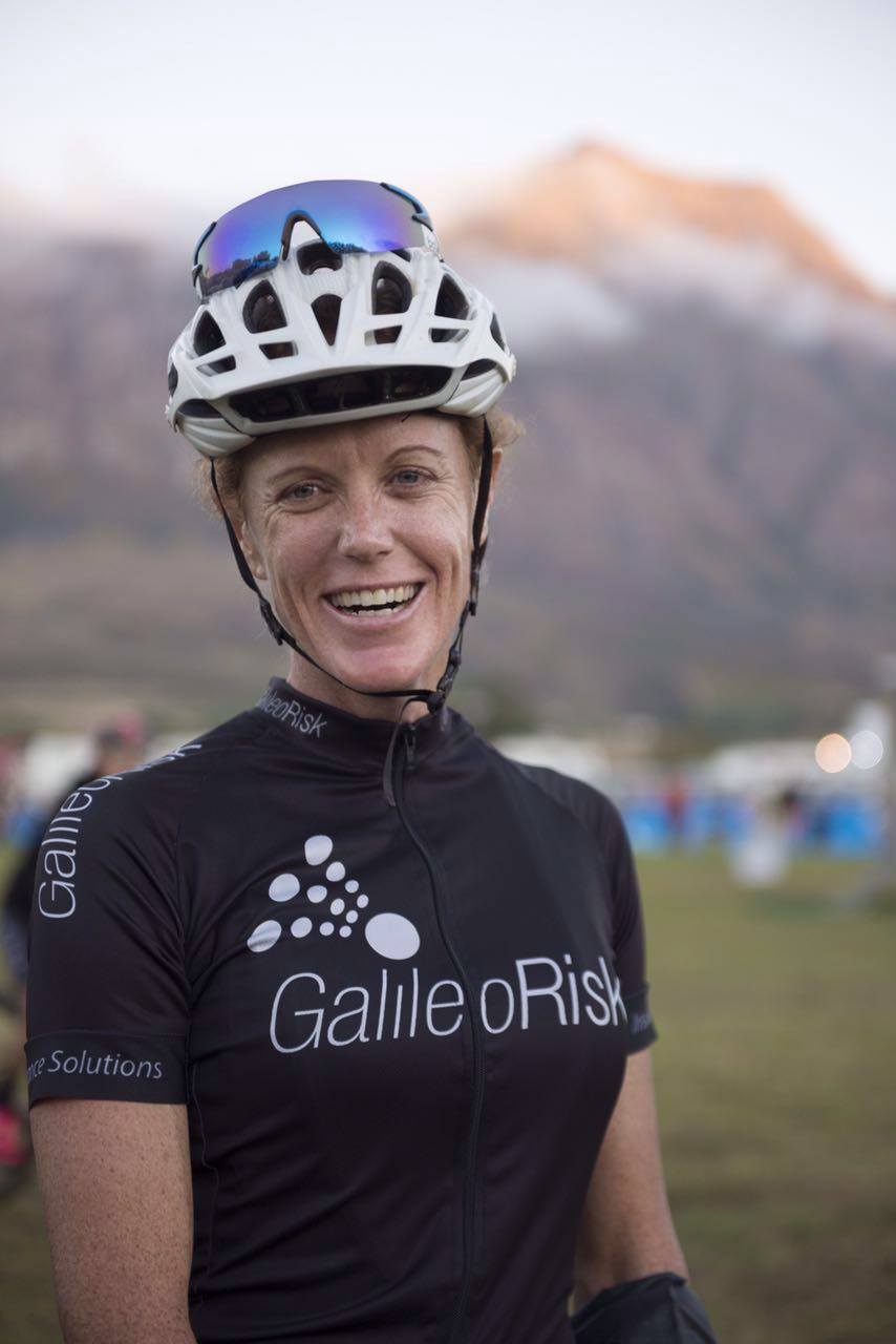Former Springbok swimmer, Theresa Ralph (Galileo Risk), looks forward to the battle that is the 2016 SA MTB Masters Marathon Championships, which takes place this year at Cascades MTB Park in Pietermaritzburg, KwaZulu-Natal, on Sunday 1 May. Photo: Emma Hill