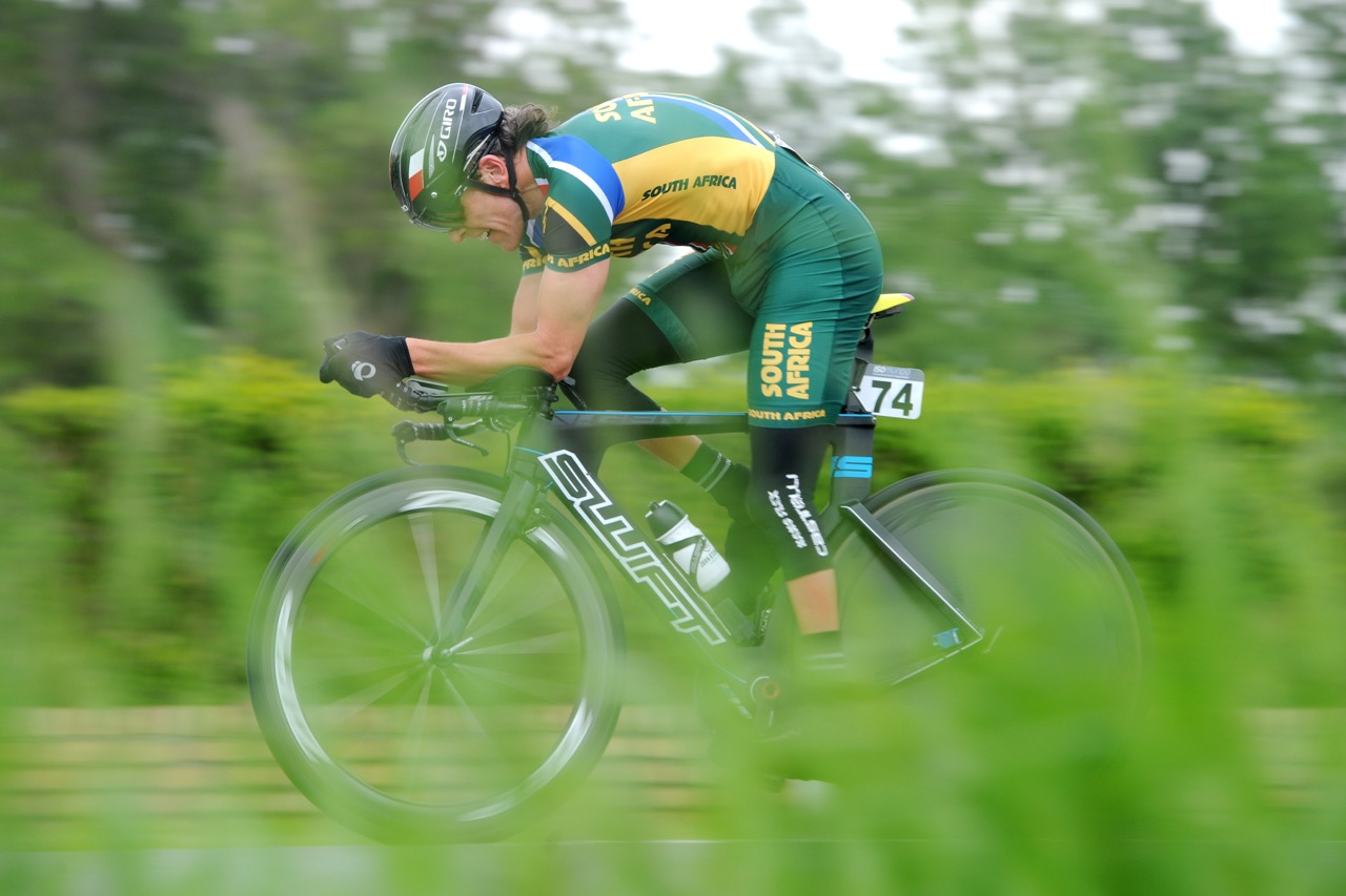 Craig Ridgard rode outstandingly well to finish sixth in his Mens C2 Road Race in round two of the UCI Para-cycling Road World Cup in Ostend at the weekend. Photo Credit:Jean-Baptiste Benavent