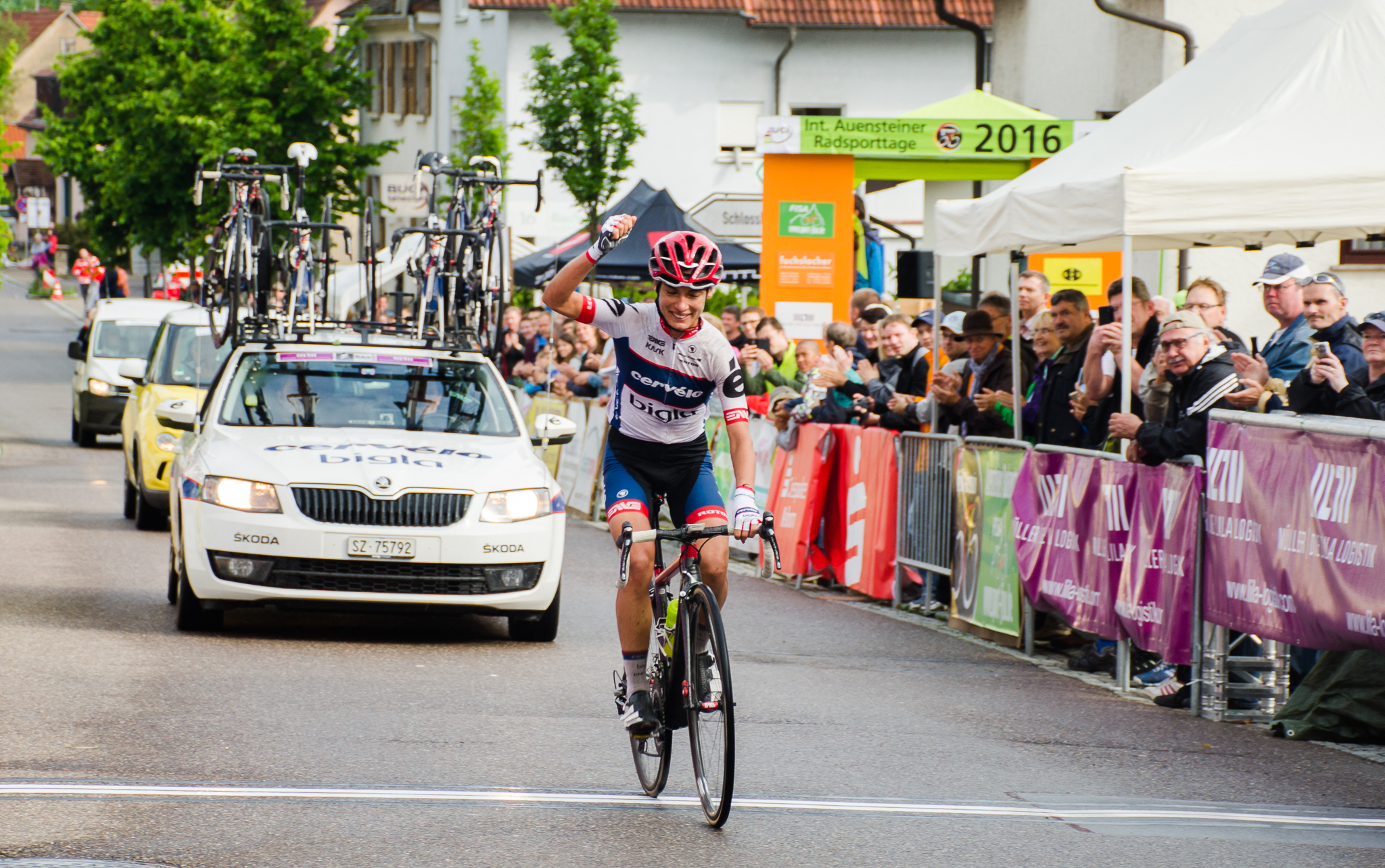 Ashleigh Moolman-Pasio (Bigla Pro Cycling Team)  ended her spells of unfortunate setbacks when she won the three-stage Auensteiner Radsporttage in Germany on 11 and 12 June Photo Credit: Stuart Pickering / Cycling Direct