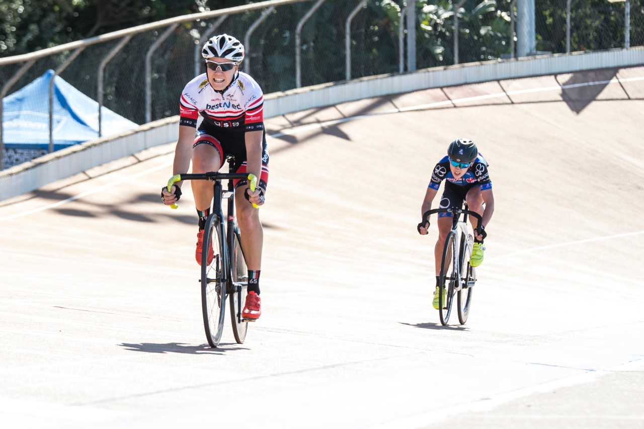 Maroesjka Matthee (Bestmed a[s]g) is happy with her performance at the South African Track Grand Prix (UCI CL2) and National Series, which took place in the sunny Durban, KwaZulu-Natal, at the Cyril Geoghegan Cycle Track from 7-9 August 2016. Photo: Andrew McFadden/BOOGS Photography