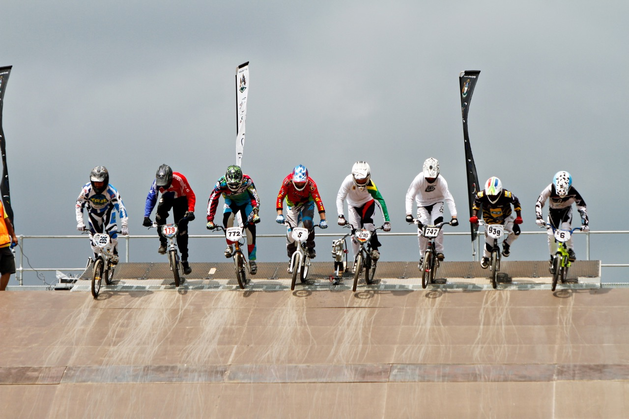 The 2016 African Continental BMX Championships take place at Giba Gorge Park in KwaZulu-Natal on Sunday 2 October. Photo: Kevin Bender
