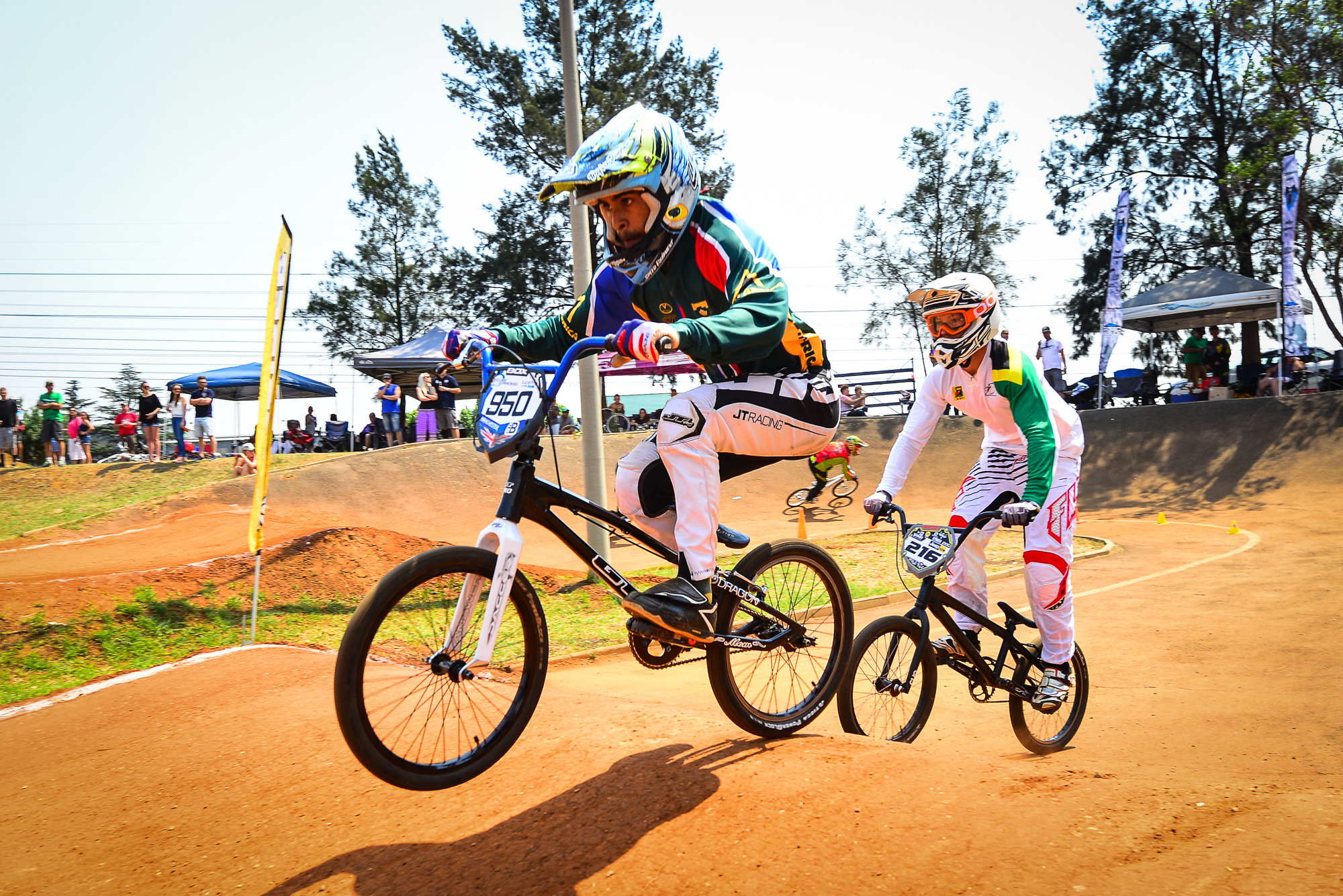 Team Faith Rockstar rider, Alex Limberg looks forward to the action that is African Continental BMX Championships, taking place at Giba Gorge Park on Sunday 2 October. Photo: Cycling SA