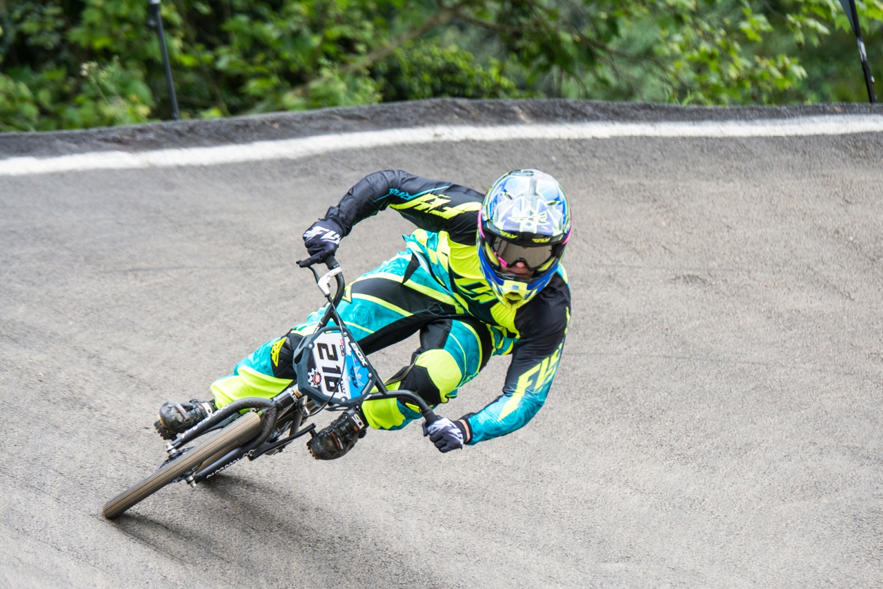 Kyle Dodd defended and won both Elite Men's titles at the 2016 South African National BMX Championships and the African Continental BMX Championships at Giba Gorge on Saturday 1 and Sunday 2 October.Photo: Andrew McFadden/BOOGS Photography