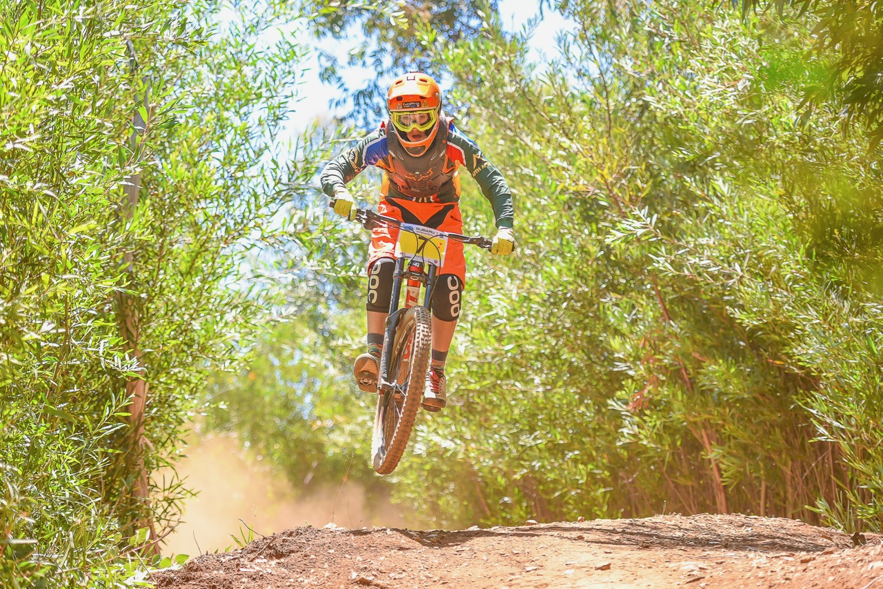 In the Junior Men's category, Cullen McMaster impressed with nine minutes on the second placed rider in his category in Helderberg on Sunday 29 January. Photo: Theo Bruwer