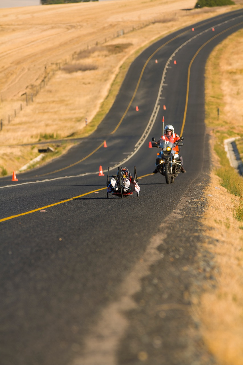 Palesa Manaleng cruised to the Women's H3 Road Race victory at the 2017 SA National Road Championships in Wellington on Friday 10 February. Photo: DoubleST