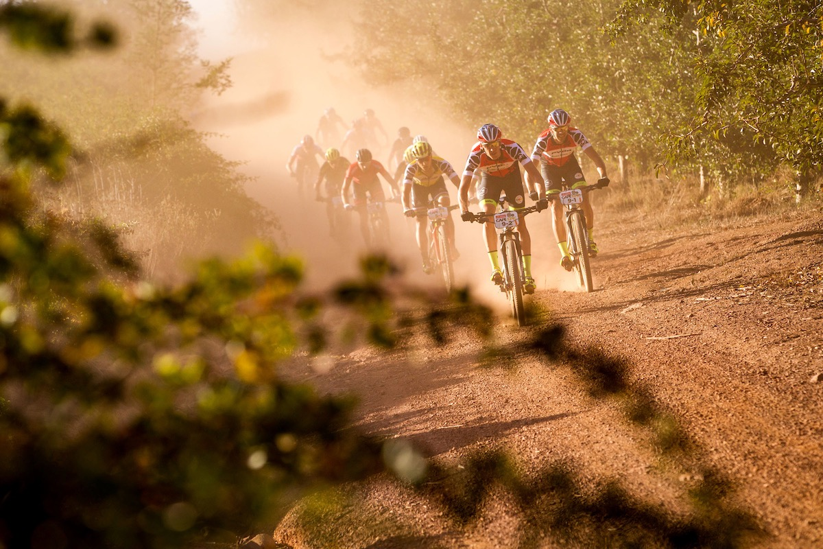 Matthys Beukes of PYGA Euro Steel during the final stage (stage 7) of the 2017 Absa Cape Epic Mountain Bike stage race from Oak Valley Wine Estate in Elgin to Val de Vie in Paarl, South Africa on the 26th March 2017  Photo by Nick Muzik/Cape Epic/SPORTZPICS