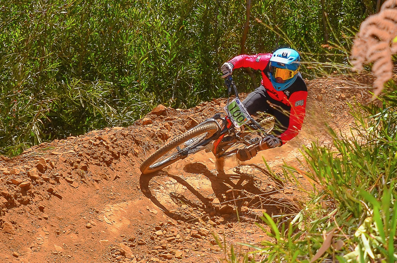 Race organisers are preparing for the second round of the SA National DHI Cup Series which takes place in Jonkershoek in the Westerstern Cape on Sunday 28 May. Photo: Theo Bruwer.
