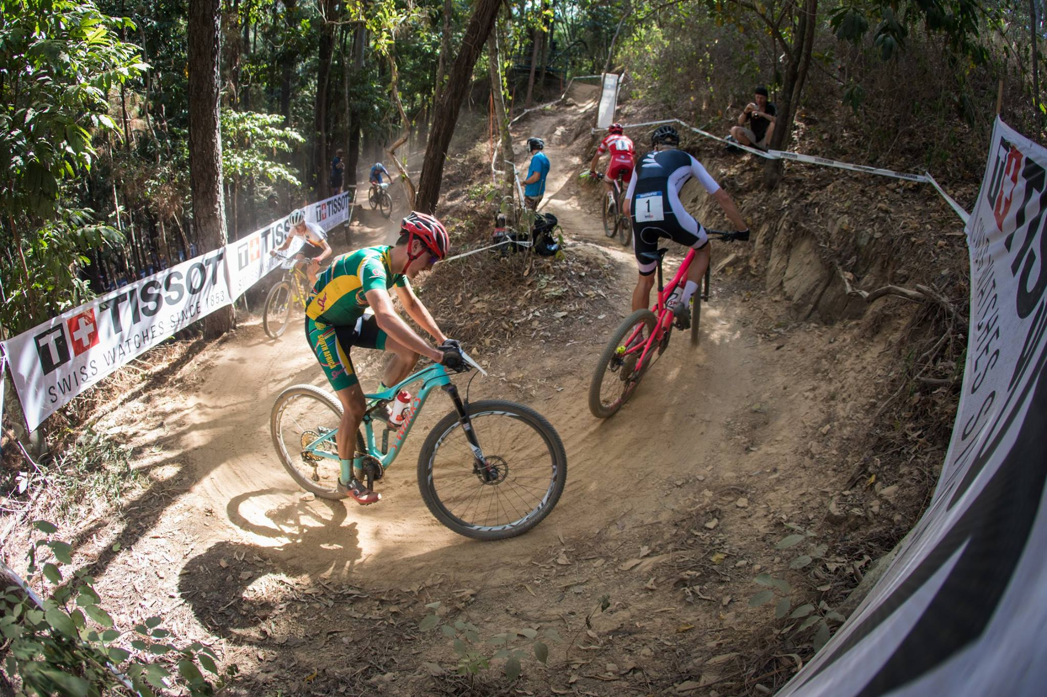 South African under-23 mountain biker Alan Hatherly achieved a career-best result when he claimed a silver medal at the 2017 UCI Mountain Bike World Championships in Cairns, Australia, on Friday 8 September. Photo credit:Michal Cerveny/UCI