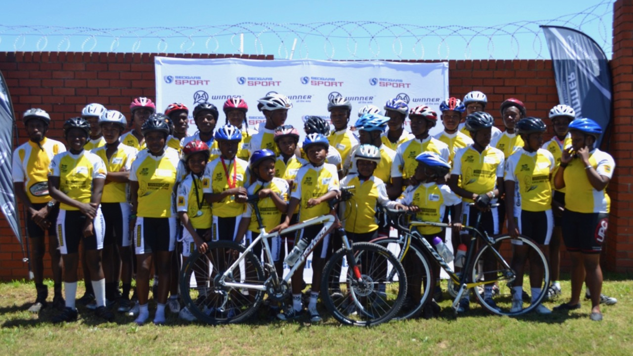 "The Eastern Cape's Siyanqoba Cycling Academy is one example of how cycling clubs have ""taken cycling to the people"" in the province, and they have been very proactive in their application process for funding. Photo: supplied."