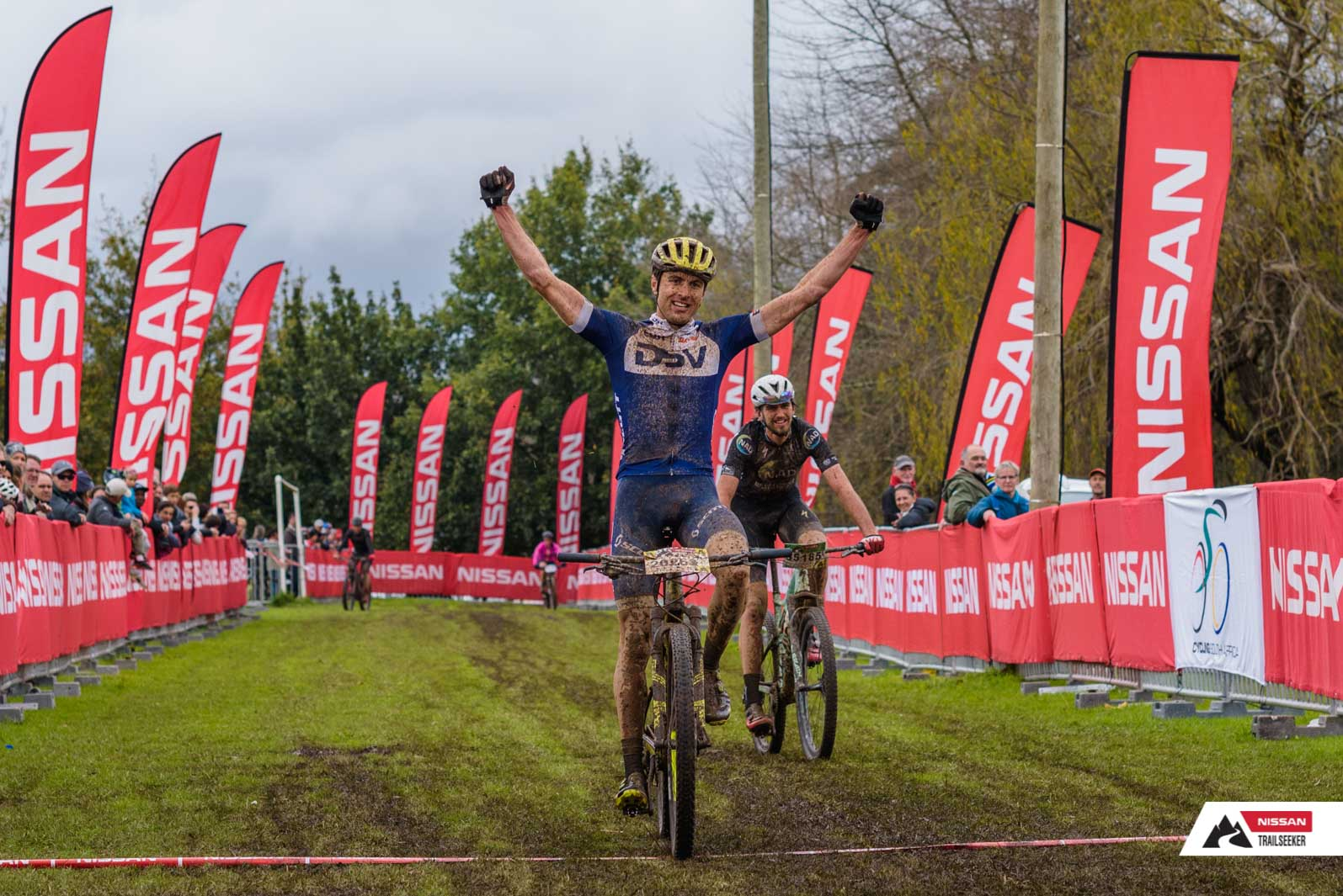 Endurance stage racer Gert Heyns (DSV Pro Cycling) emerged the victor in the Elite Men's race at the recent 2018 SA Mountain Bike Marathon Championships on 14 July, winning the epic battle over the 90-kilometre ultra-marathon course in a time of 03:29:30.