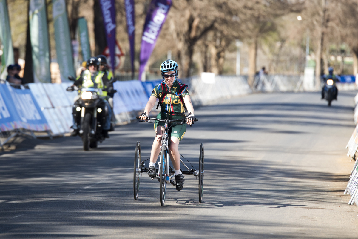 T1 tricyclist, Toni Mould, was the UCI World Cup series winner for 2016 and 2017 World Championship silver medalist.