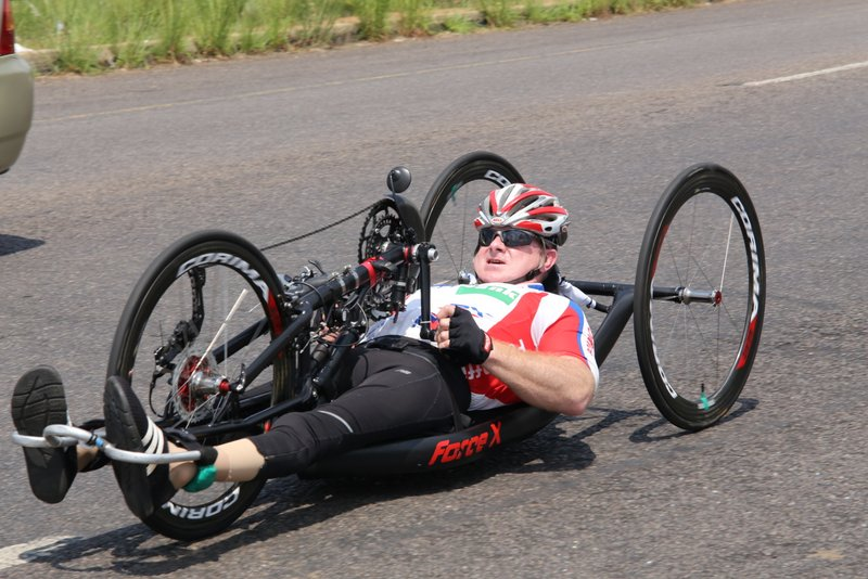Gysie van der Niet (H4) AT THE 2019 SA ROAD NATIONAL CHAMPIONSHIPS HELD IN THE CITY OF TSHWANE FROM 7-10 FEBRUARY. PHOTO: CYCLING SA/RIKA JOUBERT
