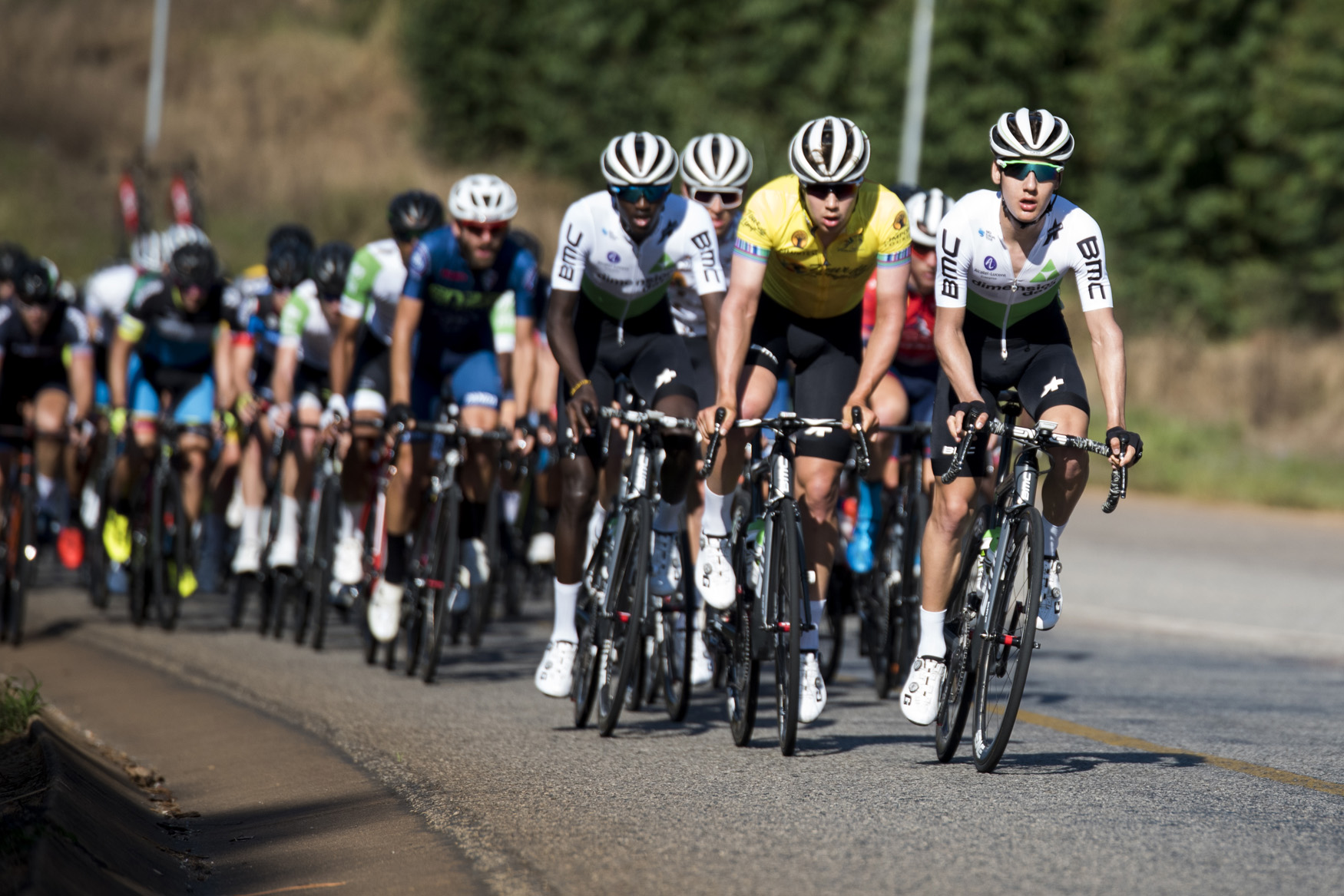 Team Dimension Data Continental rode a calculated race today and showed their class from Tzaneen to Old Coach Road, Mt. Agatha, on Stage 3 of the 2019 Tour de Limpopo (UCI 2.2) from 14-18 May © Tour de Limpopo/Andrew Mc Fadden