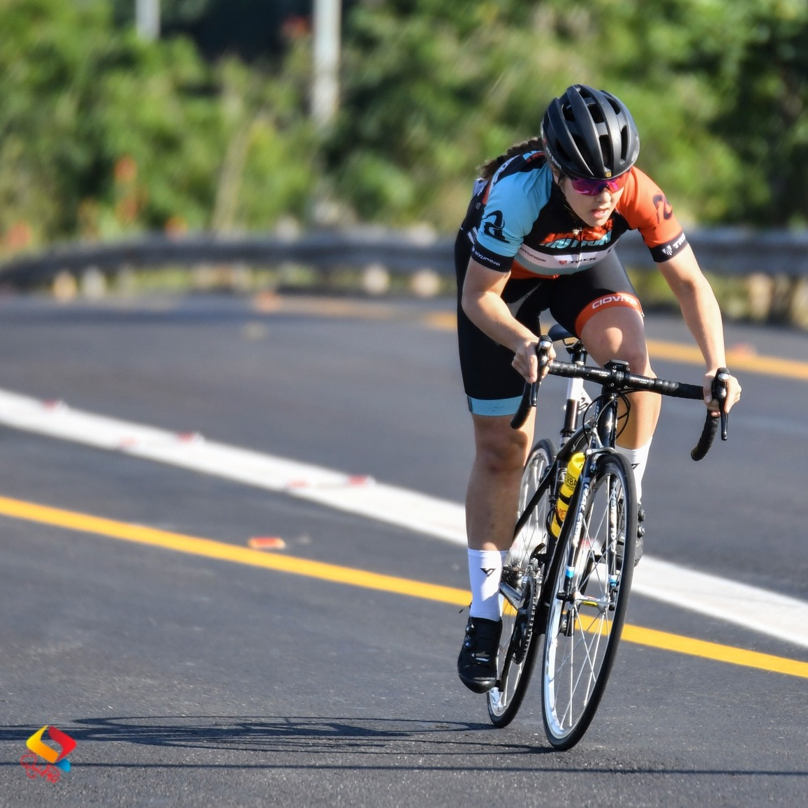 Frances Janse van Rensburg won the Women's Junior road race title at the 2019 SA ROAD National Championships for Junior, Youth and younger in Westville on Sunday 23 June 2019.