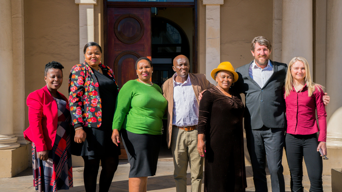 Nelson Mandela Bay Municipality and Cycling South Africa today launched the Africa Cup - a professional cycling event to be held in Nelson Mandela Bay from 10-13 October 2019 where African cycling federations will race four one-day events.The launch took place in City Hall and inattendance was MMC Public Health, Cllr Yolisa Pali, Executive Director – SRAC, Noxolo Nqwazi, MMC Sports, Recreation, Arts & Culture, Cllr Lehlohonolo Mfana, Zamuxolo Xatasi, President of Cycling South Africa and Mike Bradley, General Manager of Cycling South Africa. Photo credit: James Jones