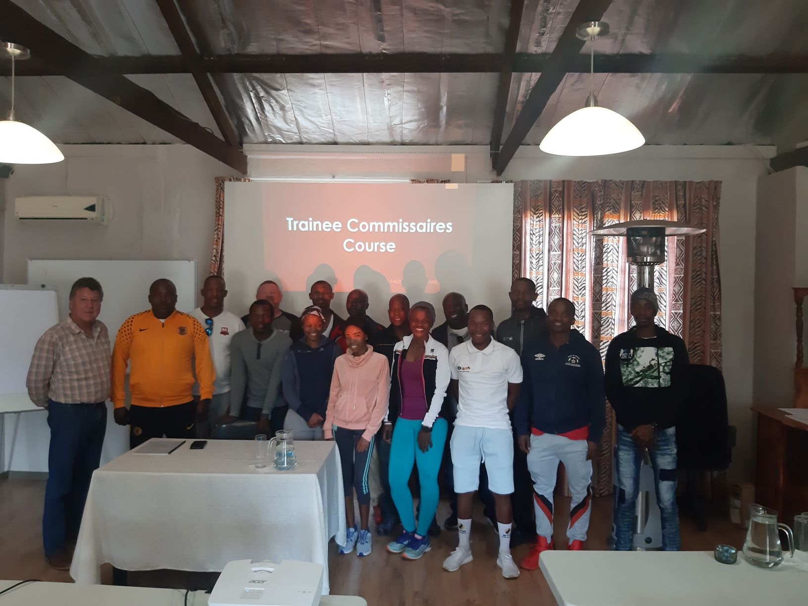 Cycling SA's Technical Commission Chair, Wynand Pretorius, with the candidates from KwaZulu-Natal and Gauteng who recently attended the National Commissaire's Course, hosted by Cycling South Africa and KZN Cycling with the support of KwaZulu-Natal Sport and Recreation in Howick from 10-11 August 2019.