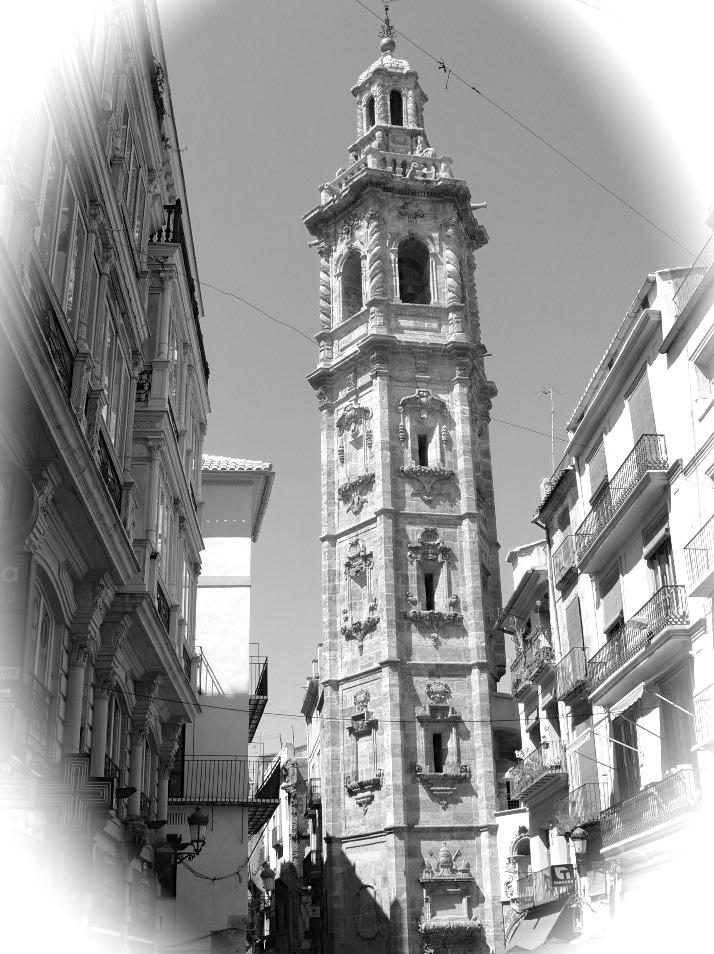 Torre de la Iglesia de Santa Catalina, Valencia  (photo Tim Robson)