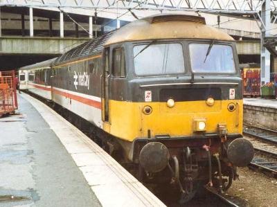 A Class 47 Intercity : Attribution: Black Kite at the  English language Wikipedia