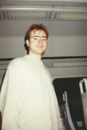 Train to London: Nov 1994. The jumper years.