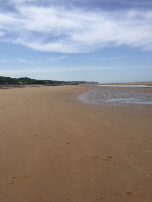 Omaha Beach, May 2018. Many Americans died here for the freedom of Europe from Nazis