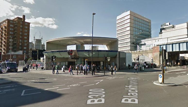 Southwark Station Sept 2018 : GoogleMaps