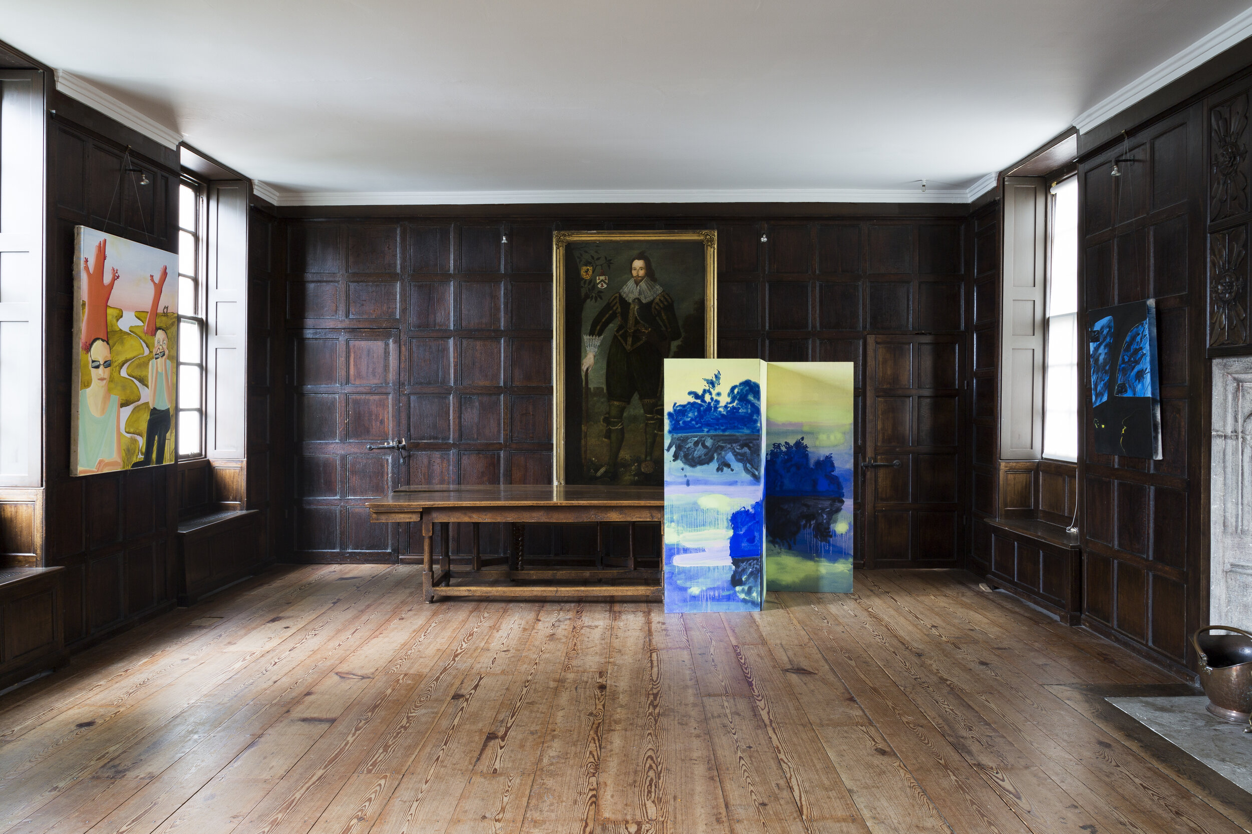Very Ripe Apricots Solo show in the National Trust's Sutton House.