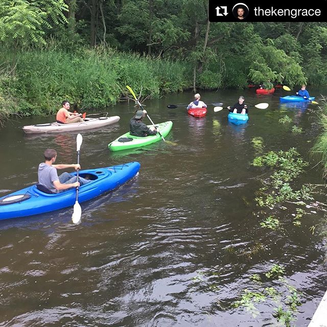 Our missionaries got to spend time with @thekengrace, one of the local pastors here in La Porte! We love building friendships with our local pastors!  #Repost @thekengrace with @get_repost ・・・ Had a killer time filled with laughter, adventure, family, friends and making new friends, clearing fallen trees add the river so that it is passable for some more Kayaking fun. I only almost died once. #kayaking #adventure #paddling #youthministry #youthpastor  #chainsawadventure #musicians #musiciansonthewater