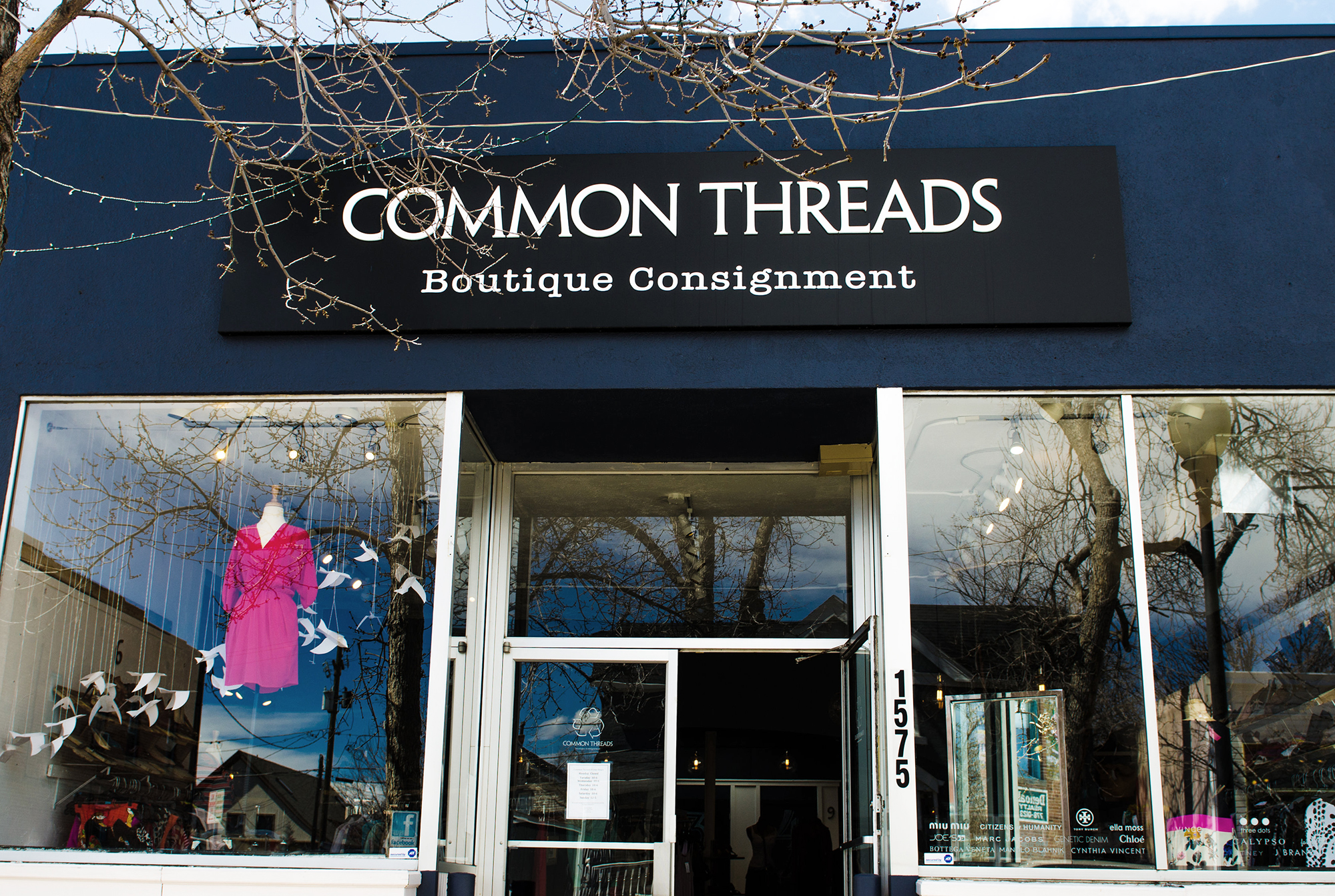 Denver Location - After the great success of the original Boulder location, it just made sense to open a second consignment store in Denver.  In May of 2011, we made our second home in the Platte Park neighborhood on South Pearl Street & couldn't be happier!  Our store thrives on beautifully-tailored pieces, feminine dresses, amazing luxe bags (city girls love their bags) & great basics.  We quickly became a hot spot amongst the young professionals & entrepreneurs of the city & for that, we are thankful.