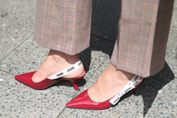Photo of  Dior  Heels Courtesy of Getty Images
