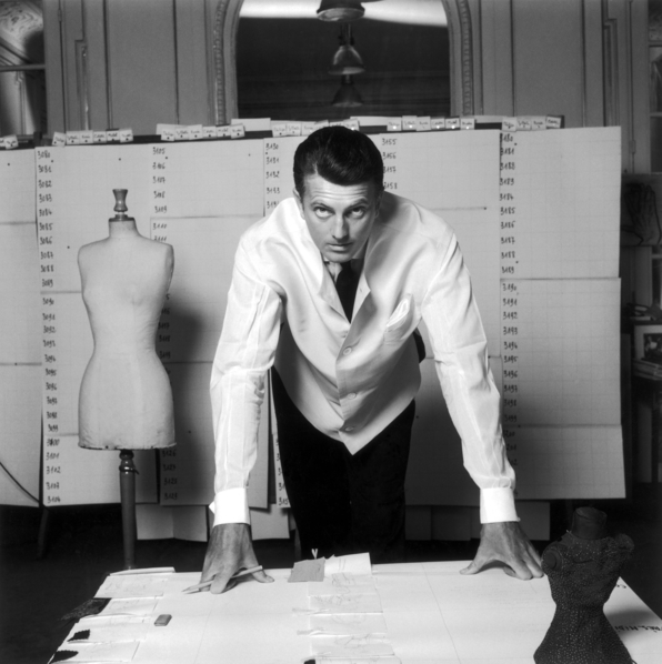 Hubert de Givenchy. Image courtesy of Luisa World.