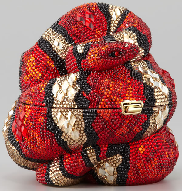 Judith Leiber Year of the Snake; image via Citizens of Fashion.