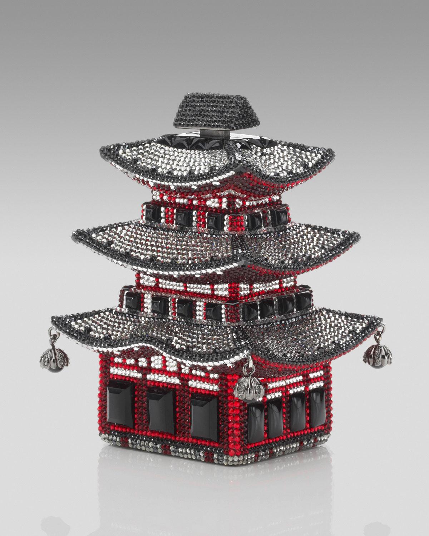 Judith Leiber Kyoto Pagoda; image via All Handbag Fashion.