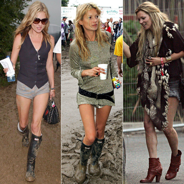 ...at  Glastonbury  in the 2000s. Image via InStyle.