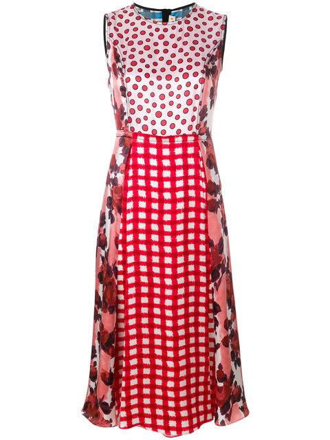Marni  mixed print dress