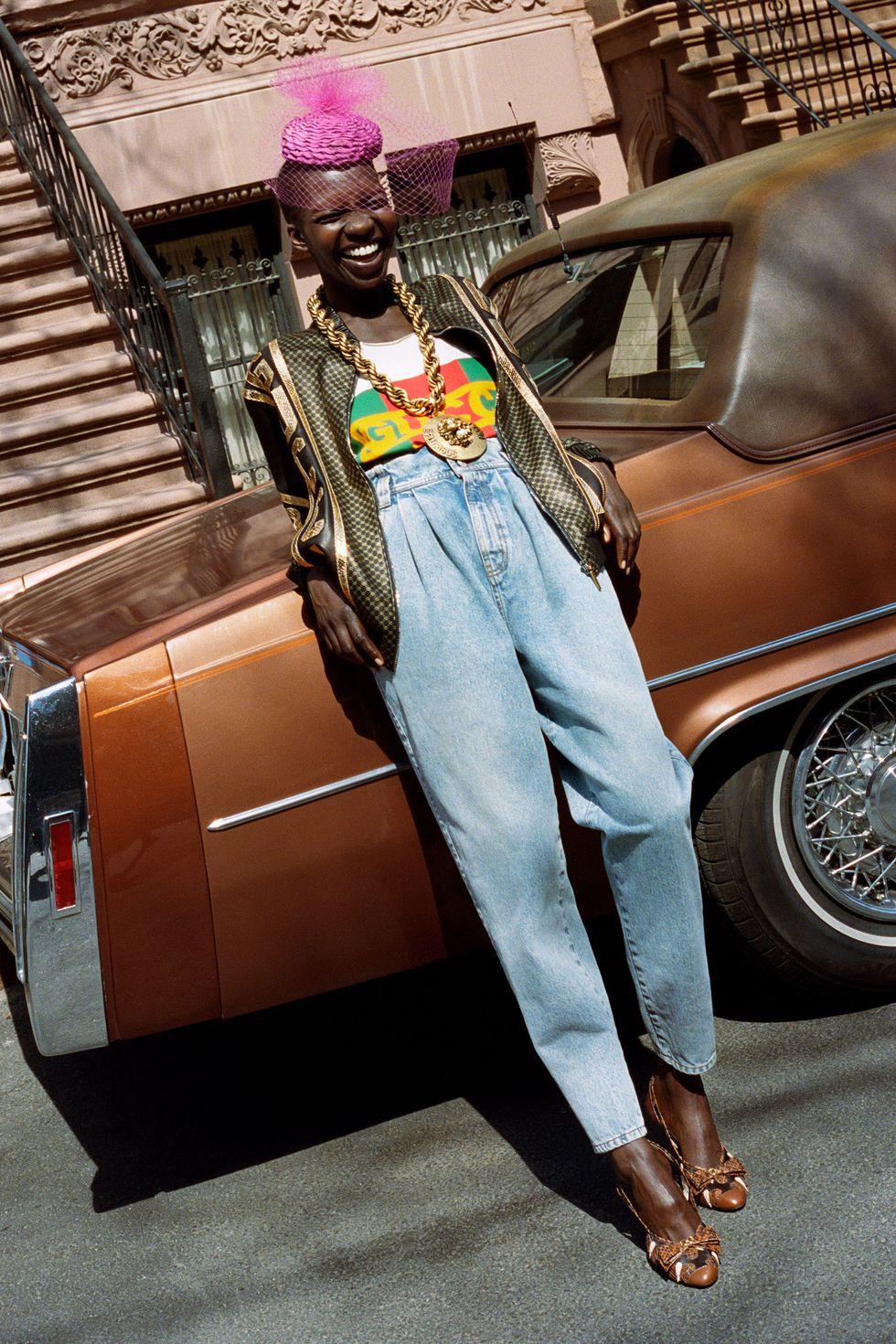 Dapper Dan x Gucci campaign; image via Gucci.