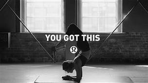 Lululemon Ad via Pinterest