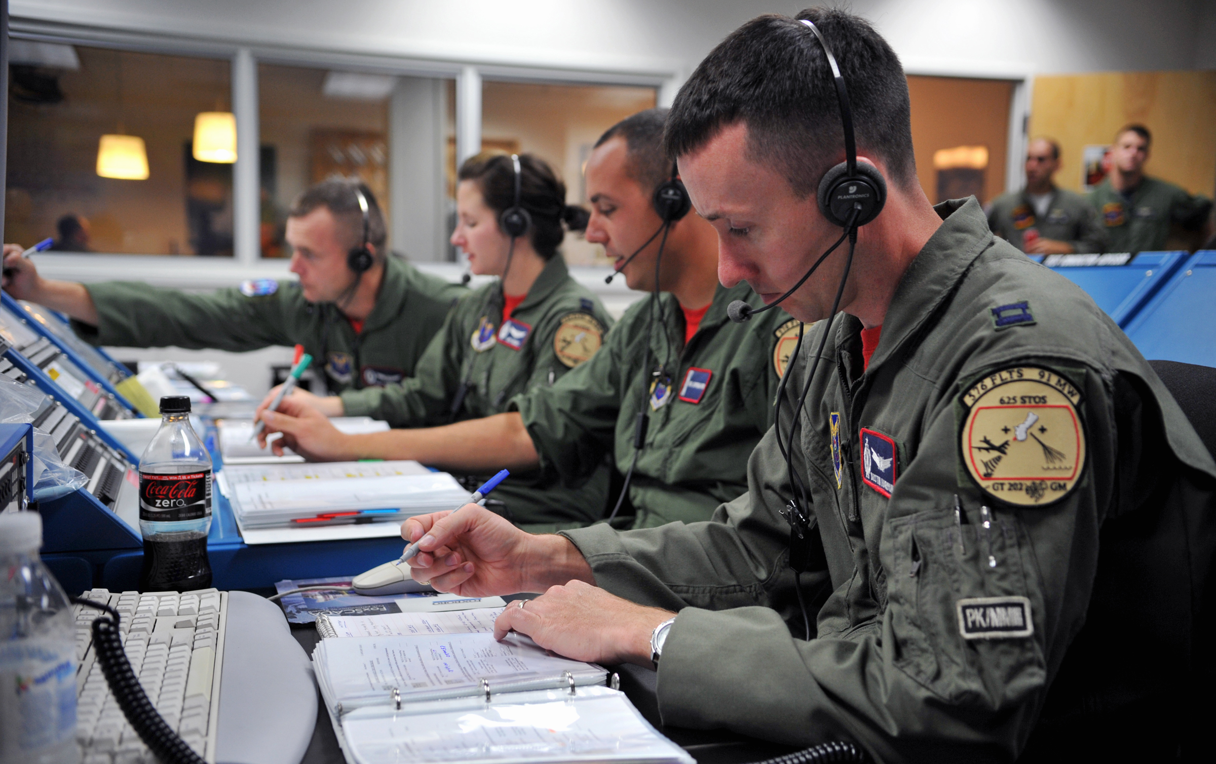 Vandenberg Airmen conduct Minuteman III flight test - Photo courtesy U.S. Air Force