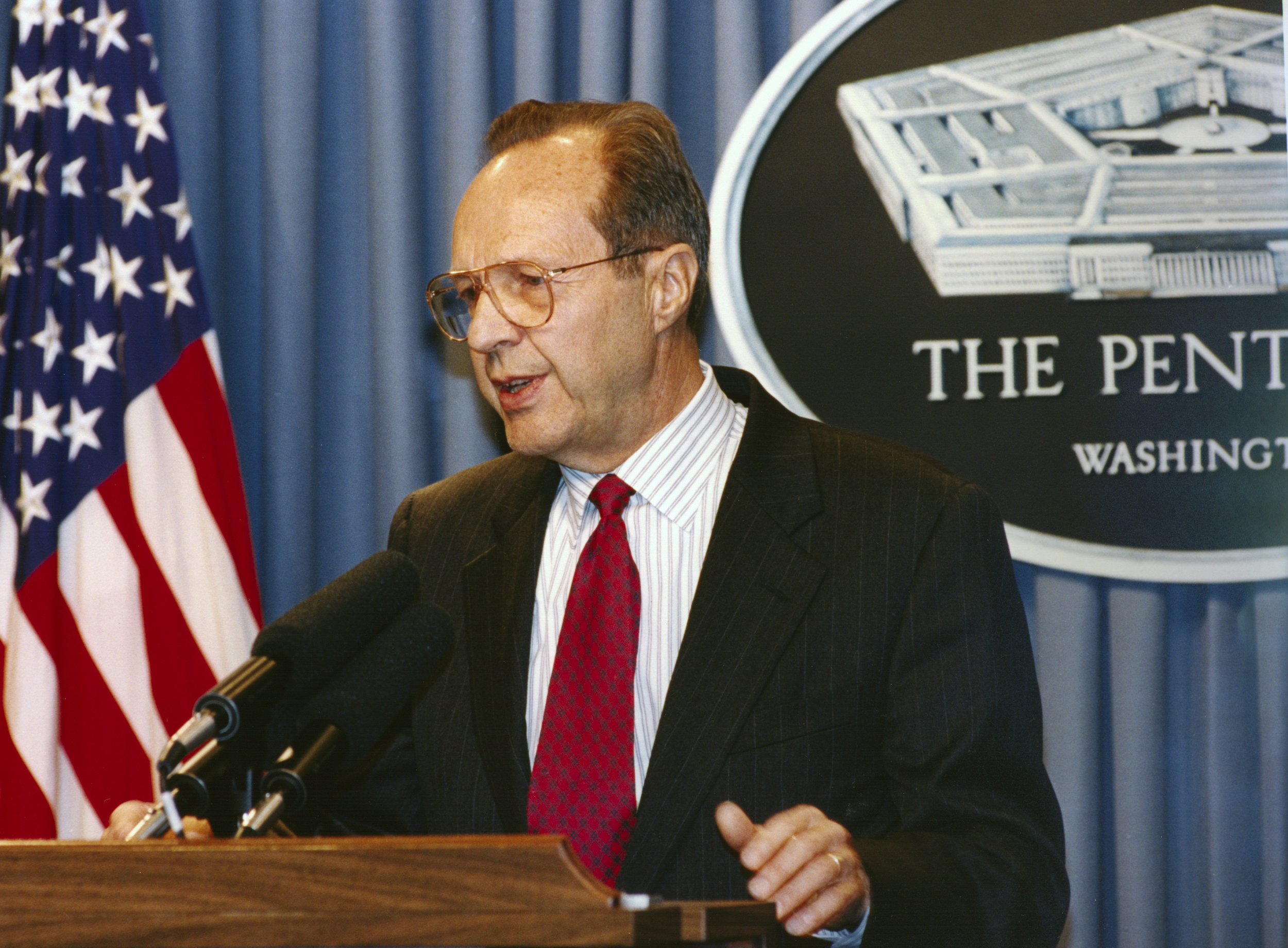 William J. Perry served as the 19th U.S. Secretary of Defense