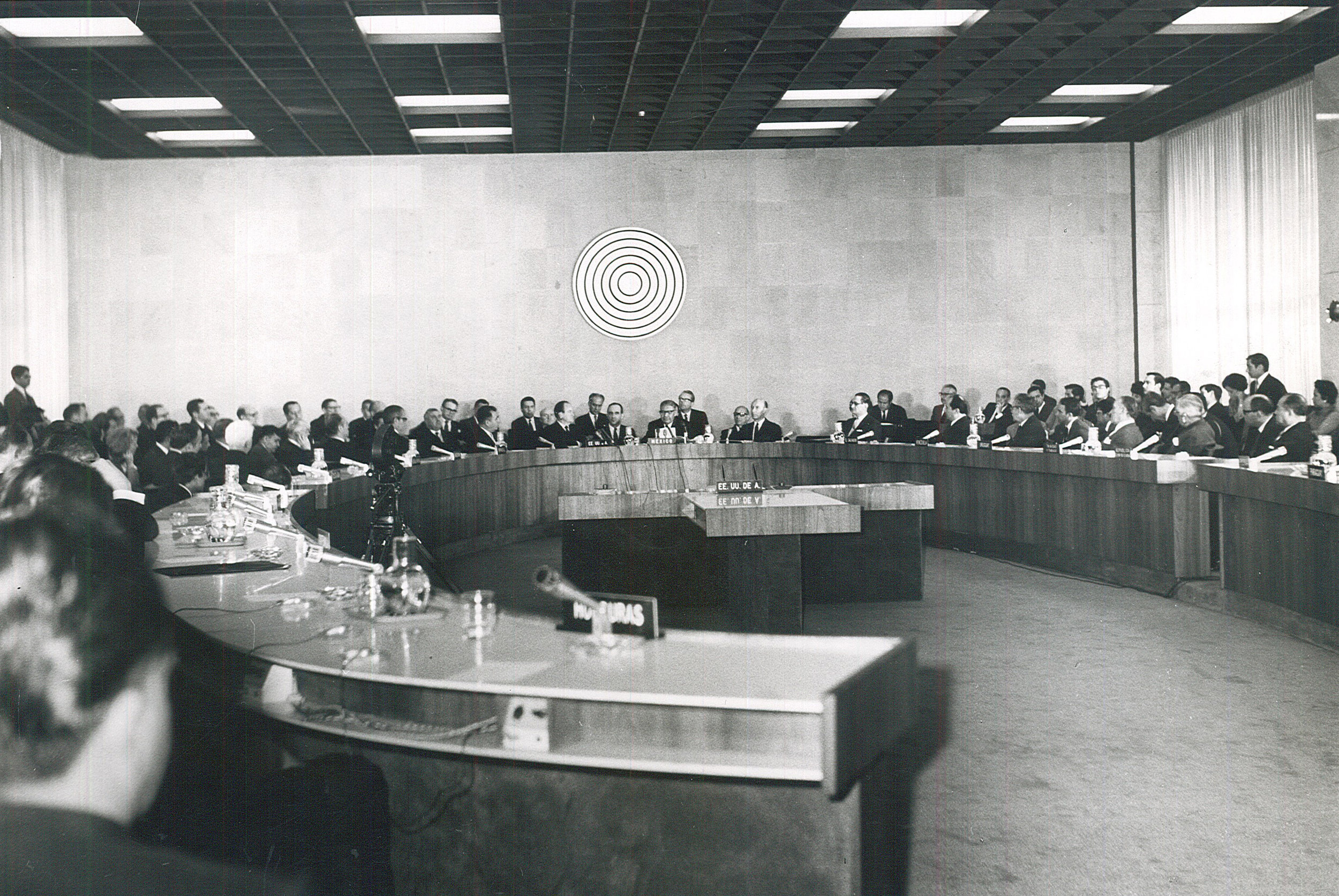 Preliminary Meeting for the Constitution of the Agency for the Prohibition of Nuclear Weapons in Latin America (REOPANAL) / Photo Credit: OPANAL