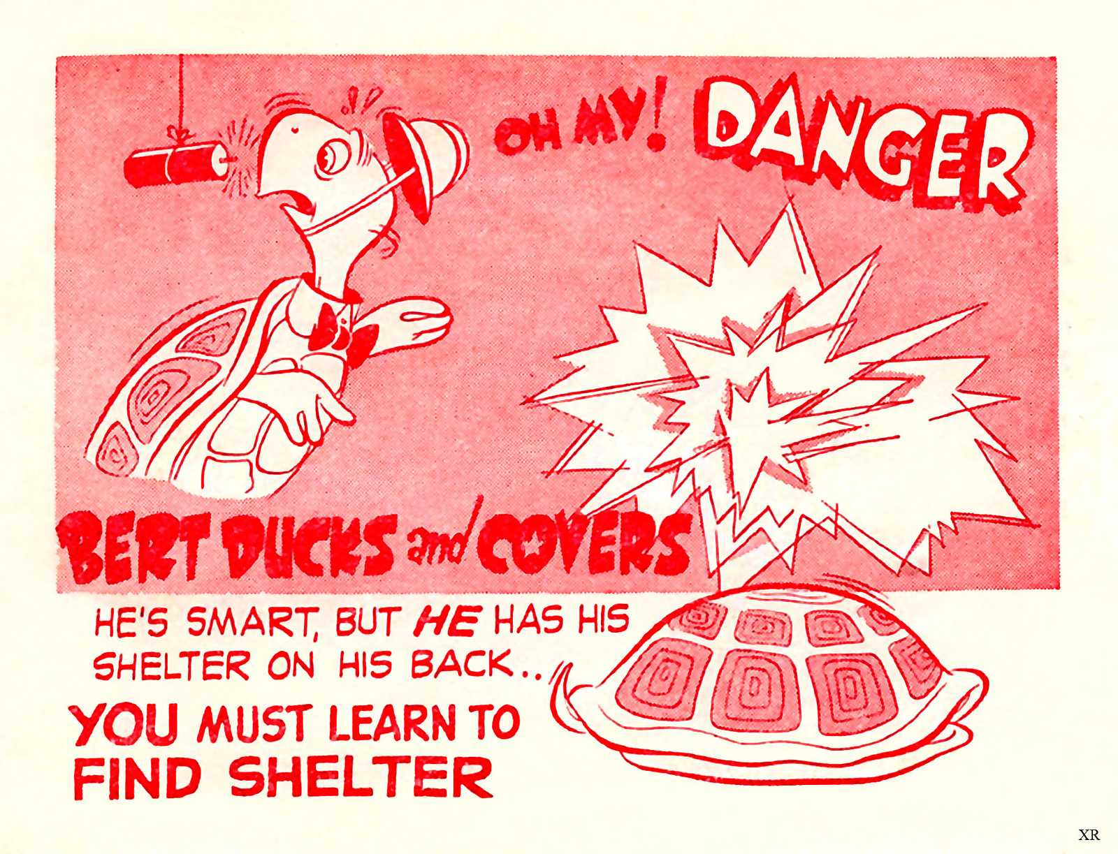 "1951 Teachers guide on ""Duck and Cover"" drills"
