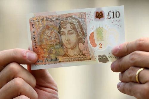 The new £10 note (Image credit -  The Express )