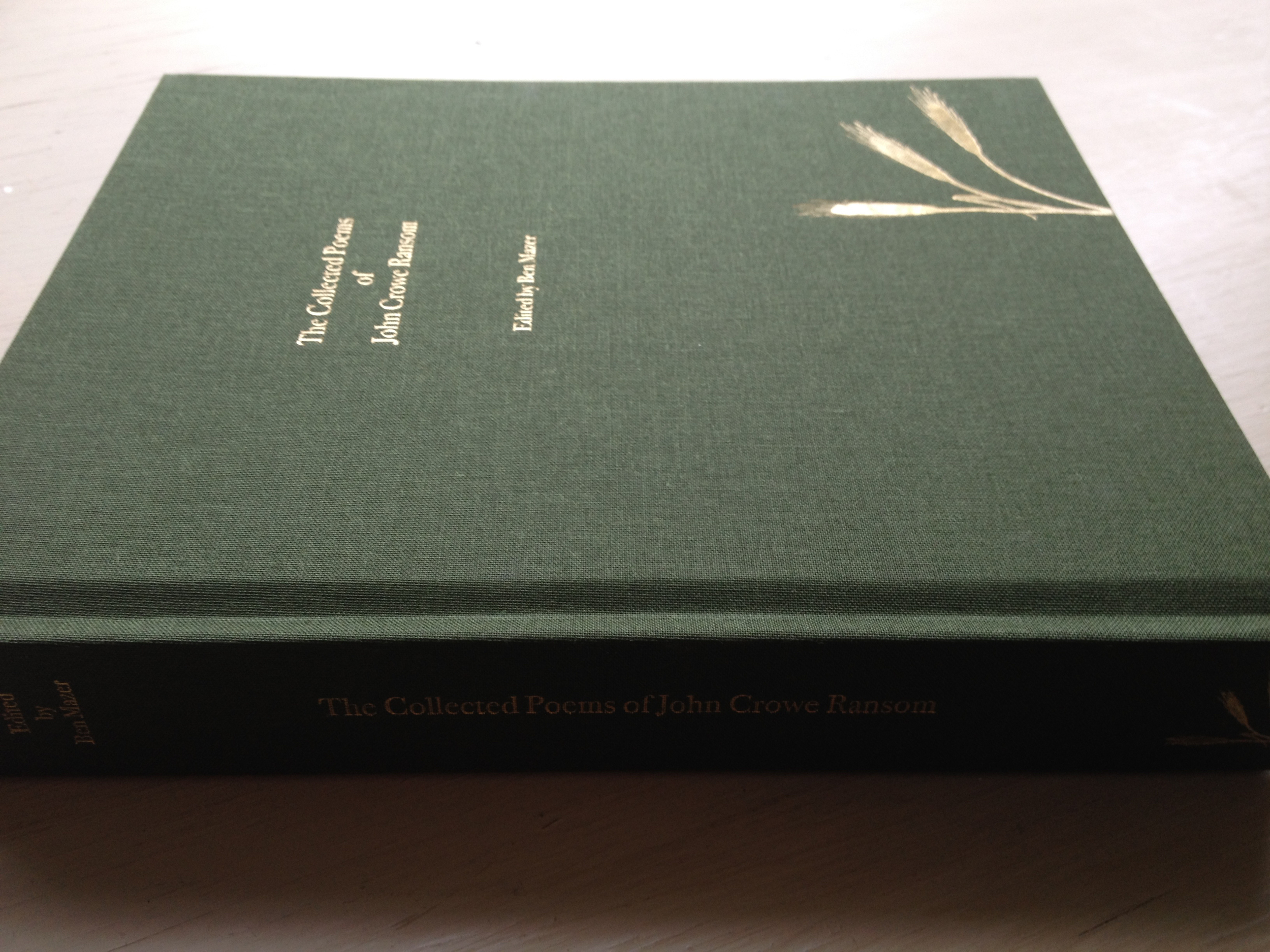 The Collected John Crowe Ransom - 17048.jpg