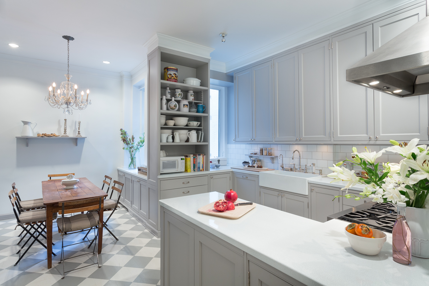 New This Week: 3 Stunning White-and-Gray Kitchens   See how the classic color palette works wonders in spaces in a variety of styles (read the article by Mitchell Parker on  houzz )