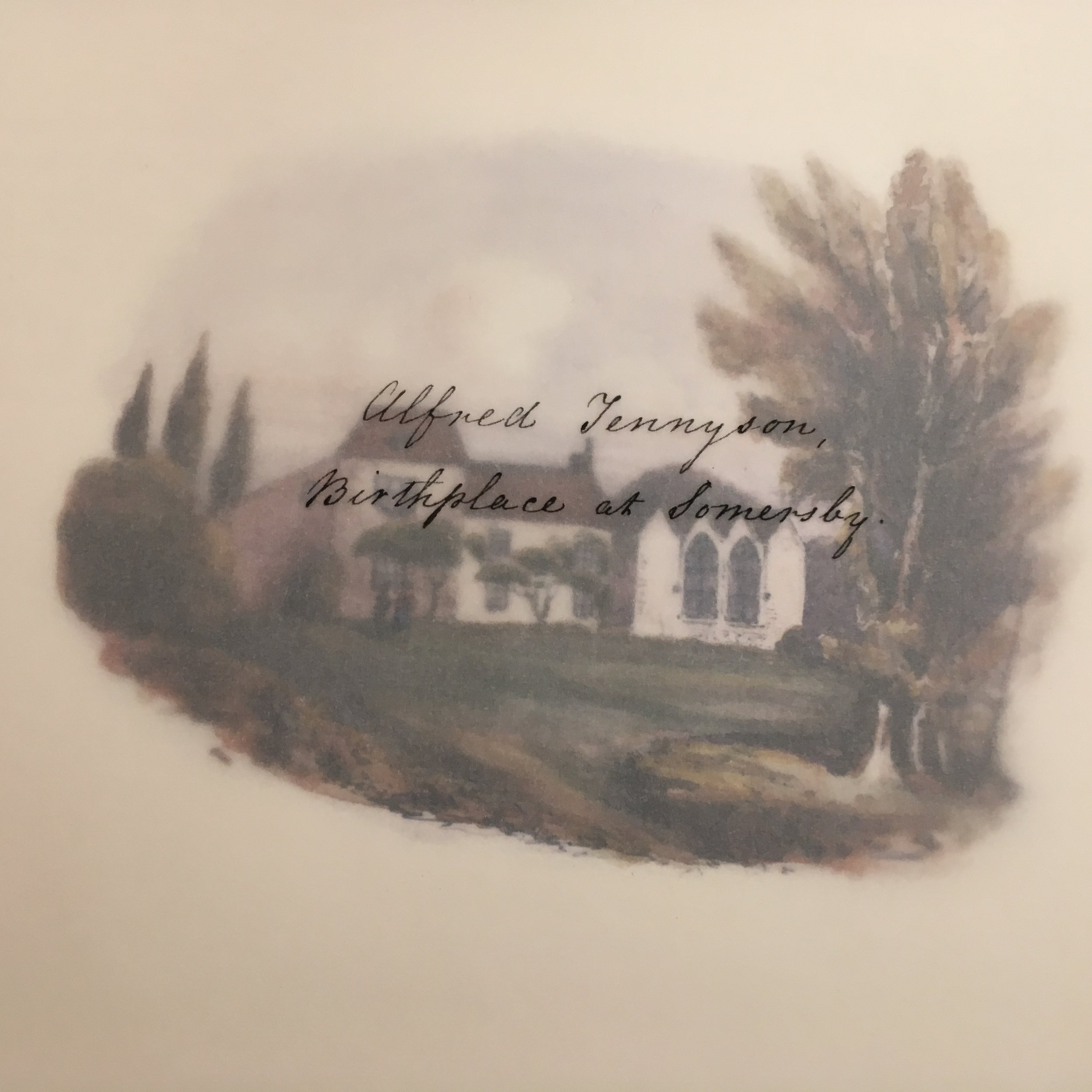 Alfred Tennyson Birthplace at Somersby..JPG