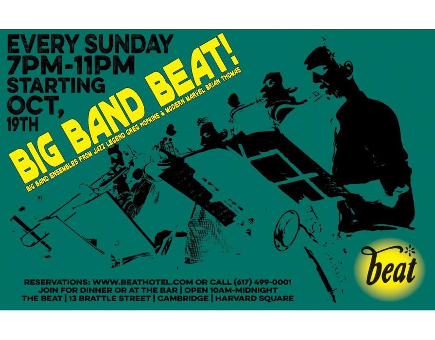 """The Beat Hôtel Launches a Sunday Big Band Series with the Legendary Greg Hopkins & Modern Marvel Brian Thomas   Every other week the legendary Greg Hopkins will be joined by his big band for an evening of traditional swing jazz.  REALITY CHECK - THE GREG HOPKINS QUINTET + ONE (UN-GYVE RECORDS). Cover Photograph: Mark Chester, """"Painters"""" (California, 1983) from Twosomes (Un-Gyve Press). Six of the country's premiere jazz players offer up a Reality Check with the unparalleled compositions and arrangements of the great Greg Hopkins """"the sound and spirit of a real working band."""" ( PRNewsFoto/Un-Gyve Limited ) (PRNewsFoto/UN-GYVE LIMITED)"""