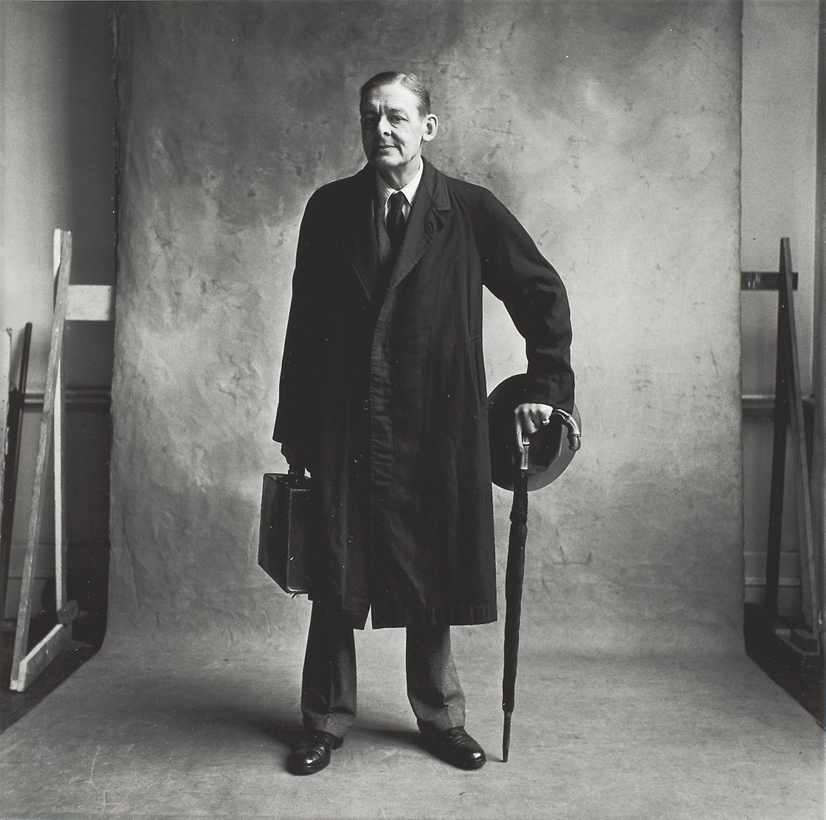 T. S. Eliot (C), London, Irving Penn, 1950, printed November 1998. Copyright © The Irving Penn Foundation. From the Collection of The Art Institute of Chicago.  October 1:  More than One Waste Land.