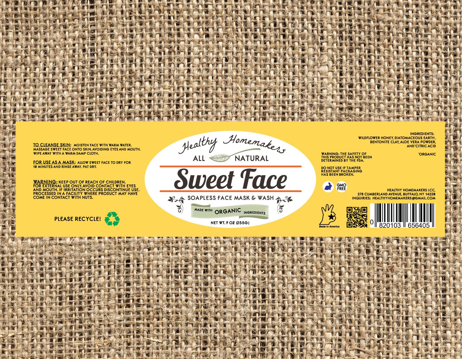 Sweet Face - 9oz