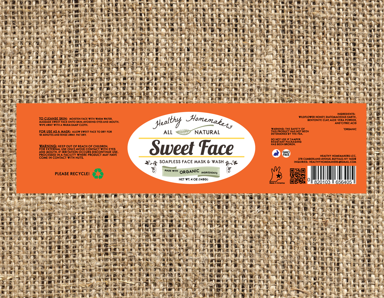 Sweet Face - 4oz