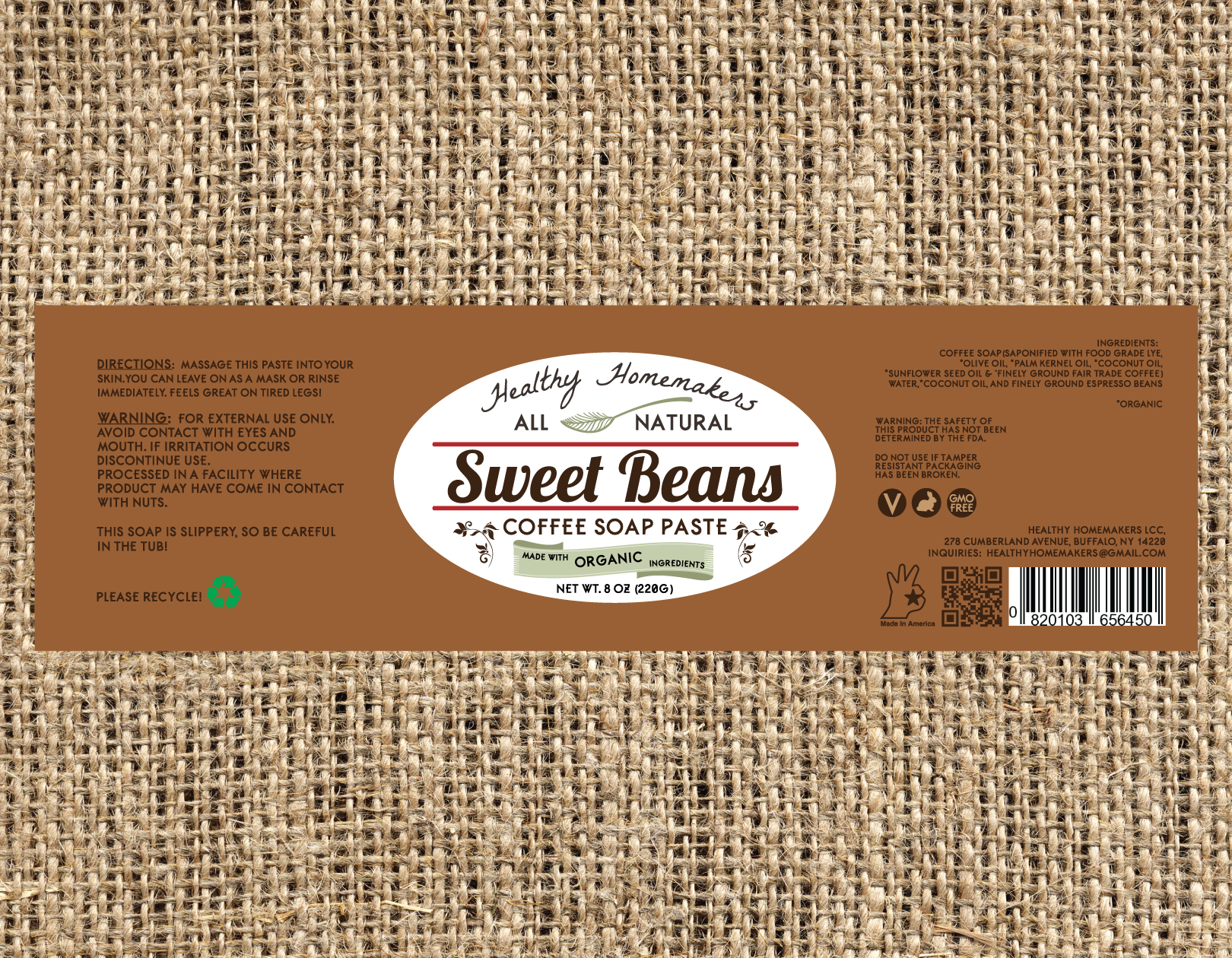 Sweet Beans - Coffee Scrub