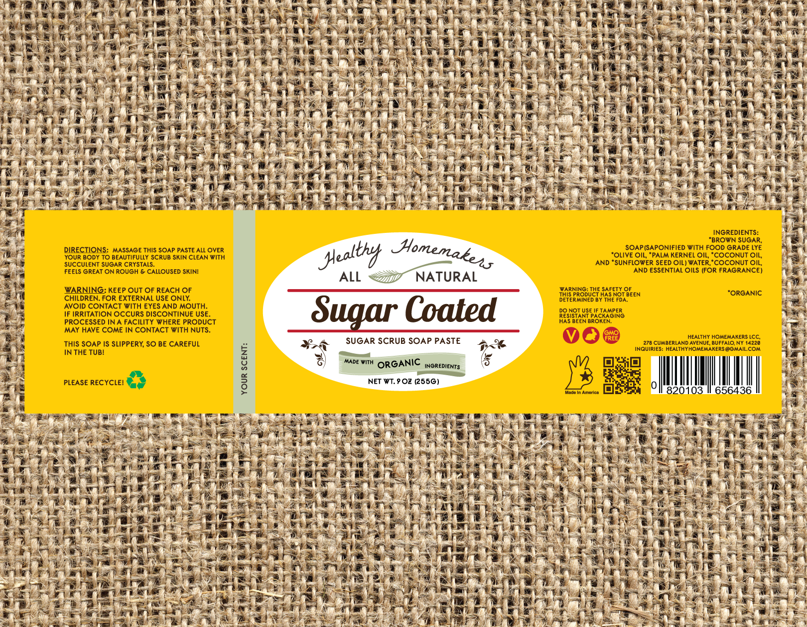 Sugar Coated - Sugar Scrub